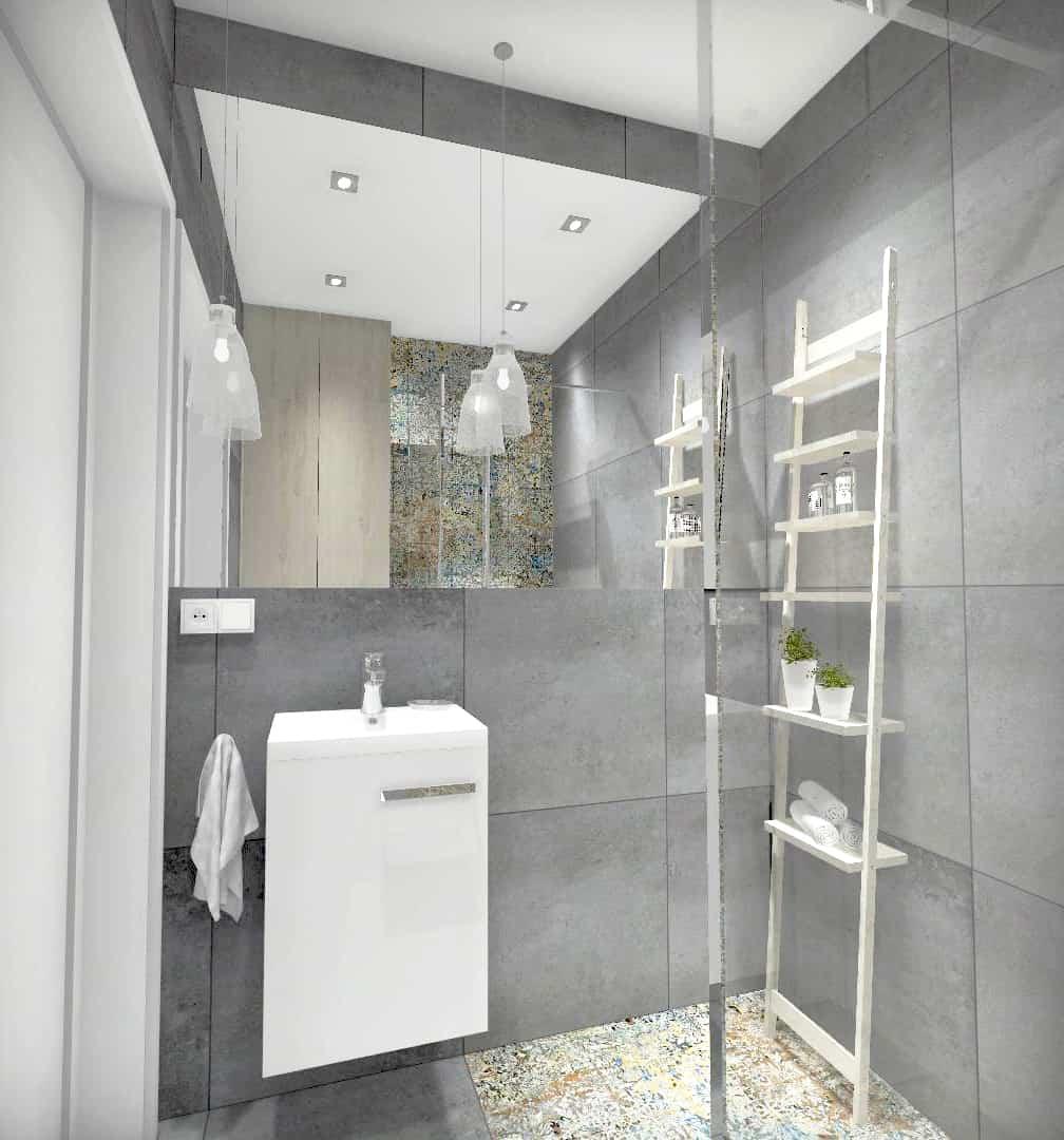 łazienka 3m2